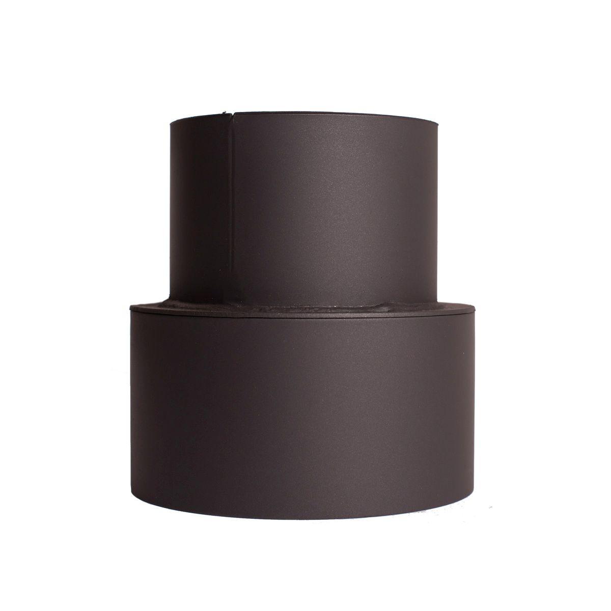Přechodka (redukce) kamna - komín 125 mm/150 mm/1,5 mm