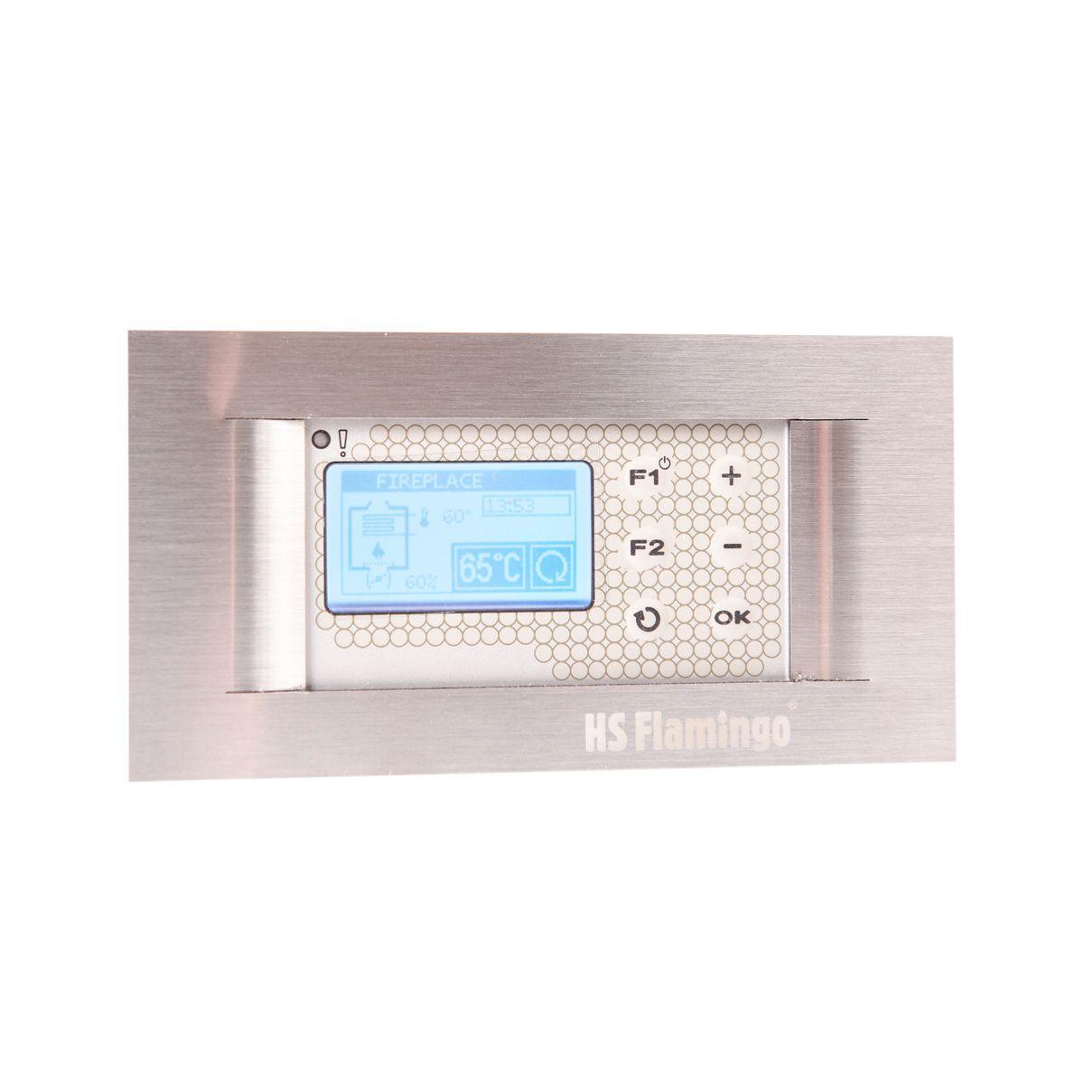 Automatická regulace hoření RT08G-OM2, 120 mm, teplovzdušná se senzorem spalin
