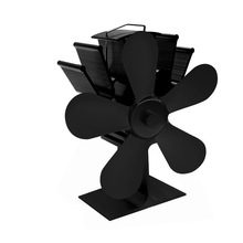 Krbový ventilátor (vrtule) pětilopatkový, černý
