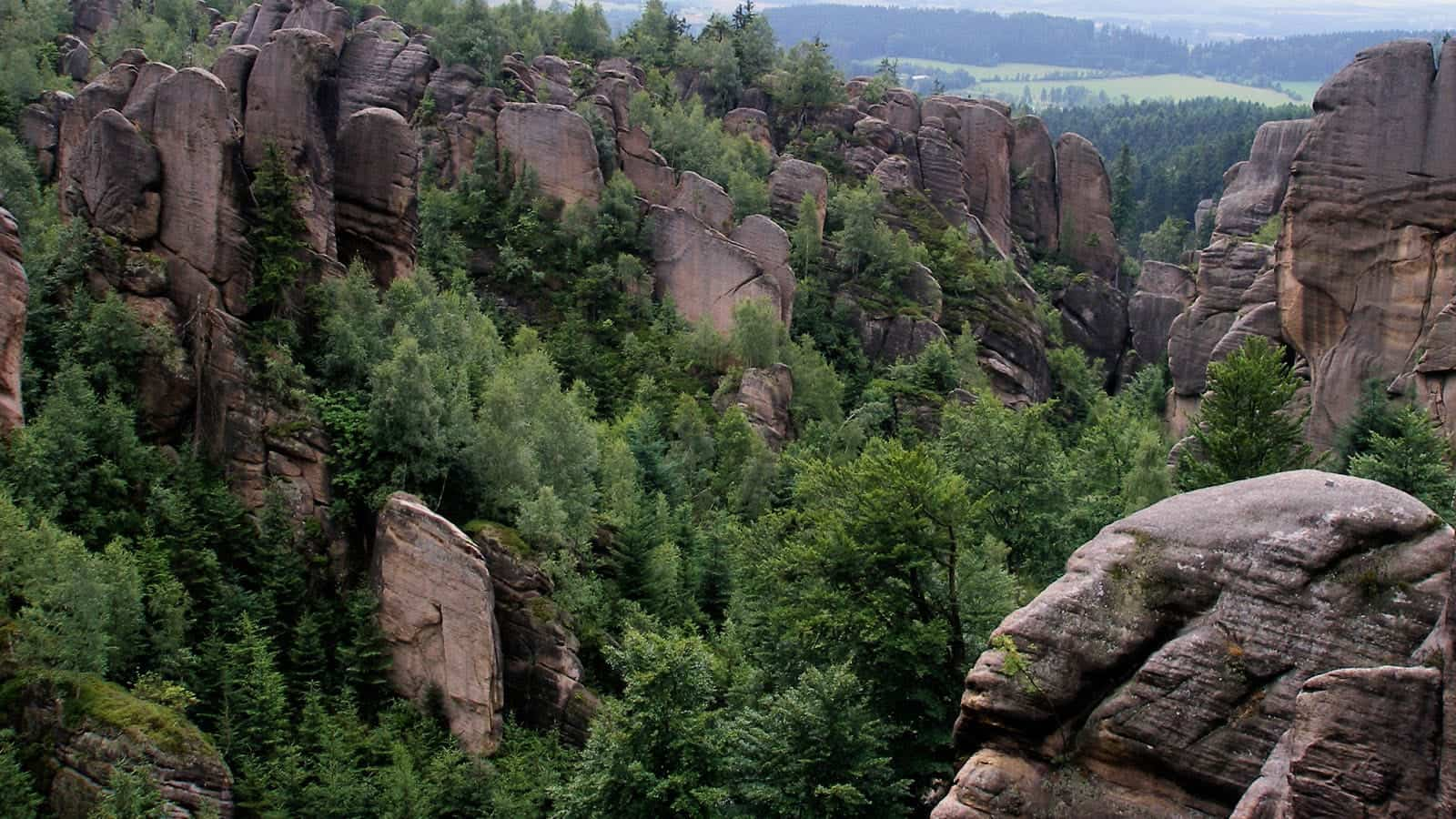Kamenné divadlo v Broumovských stěnách