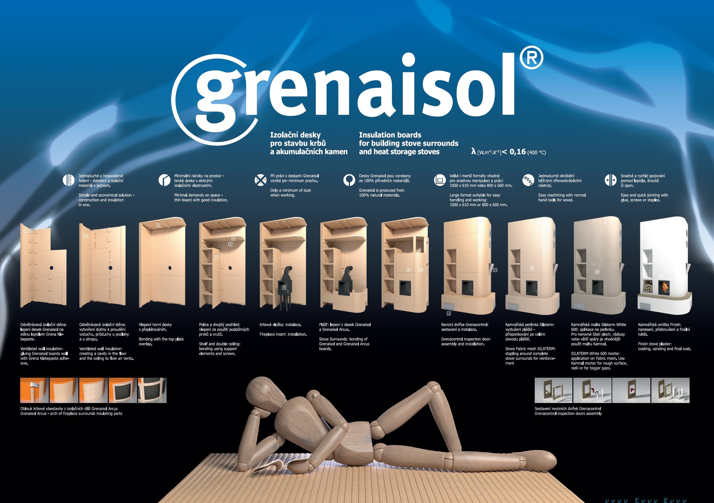News insulation board Grenaisol
